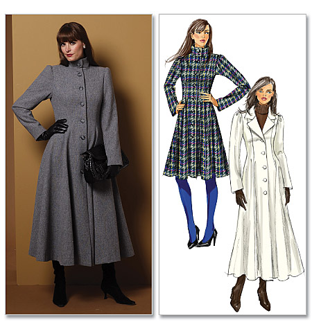 Butterick Princess-seamed Coat