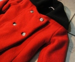 A finished coat... missing only one ten-year-old girl