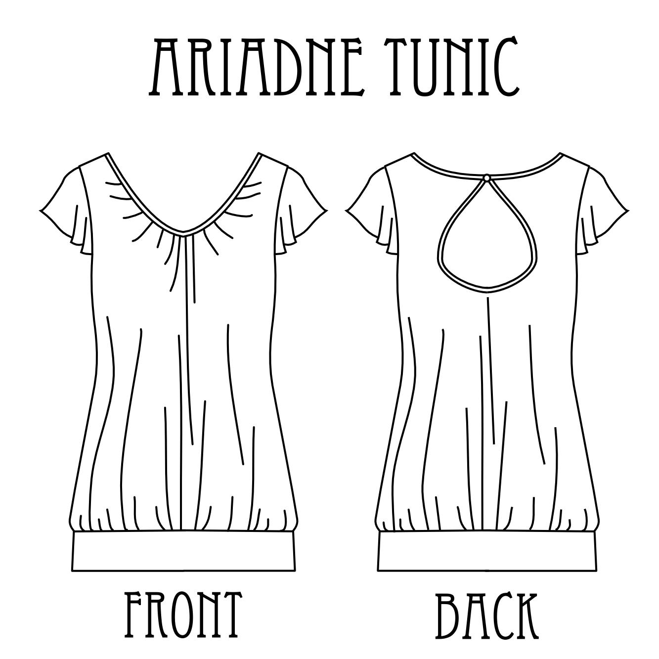 Ariadne Tunic | Tanit-Isis Sews