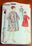 This was in the middle of a baggie of other patterns. Its vintage is its only redeeming feature, as far as I can tell, and it's the wrong size. Sigh. If the fifties cover ladies can't make it look elegant, you know you and I have no chance...
