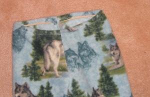 Half-ass waistband