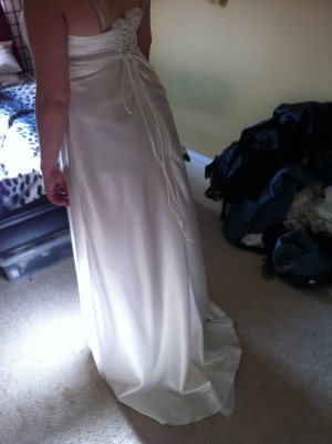 Wedding Dress Trial #1