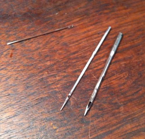 A proper 12x1 needle