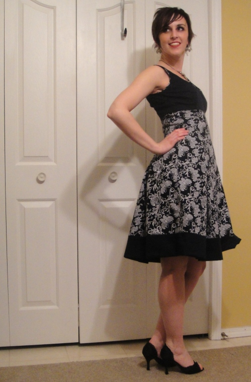 Almost an Easter dress