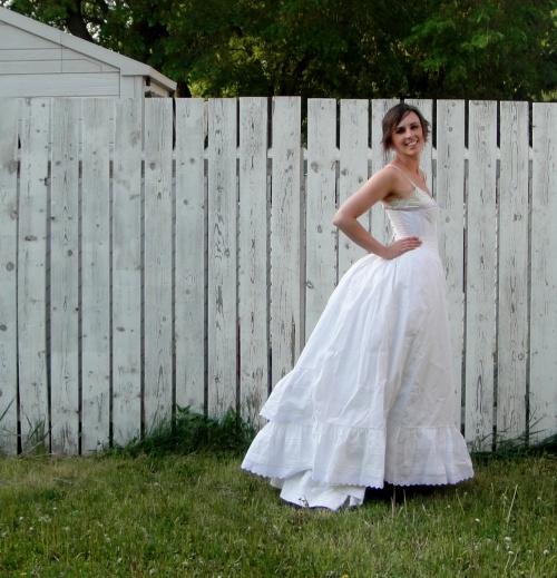 Two petticoats!