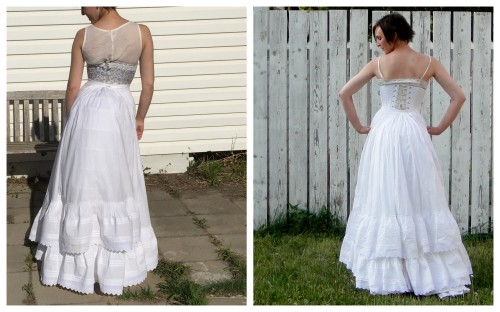One petticoat vs. 2