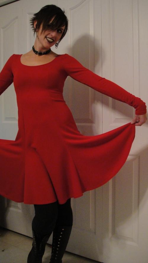 Fun flared skirt!